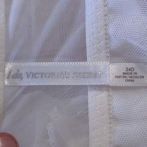 Victoria's Secret Intimates & Sleepwear - 4/25🎃I Do, Victoria's Secret white sheer babydoll